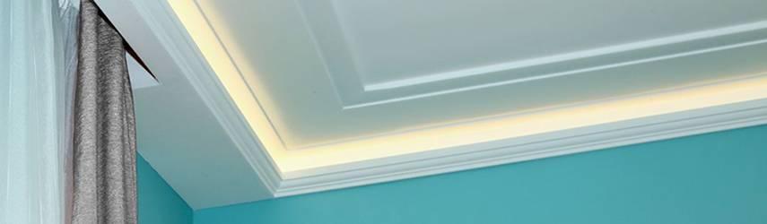 Vorhangleisten zu den LED Stuckleisten für indirekte Beleuchtung – Teil 3