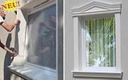 Laibungsprofile für die Fensterumrandung