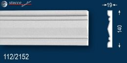 Fassadenprofil Zierleisten beschichtet Georgetown 112