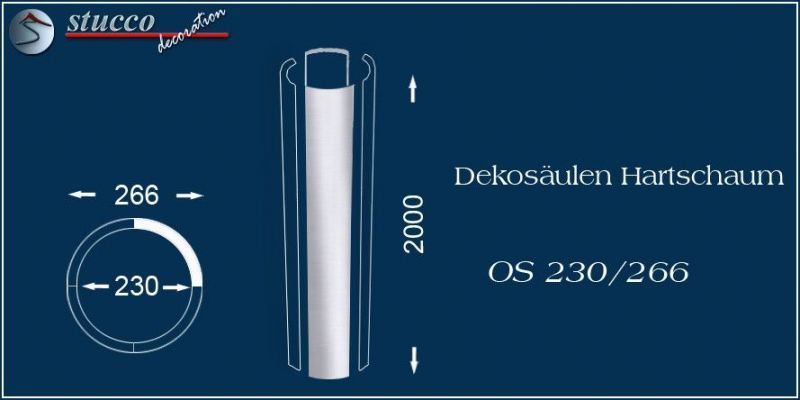 kapitell f r s ule aus hartschaum styropor ofm 230 430. Black Bedroom Furniture Sets. Home Design Ideas