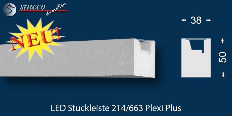 indirekte beleuchtung styropor leisten innsbruck 214 plexi plus. Black Bedroom Furniture Sets. Home Design Ideas