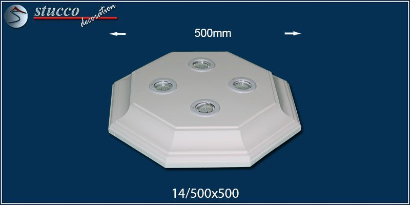 Led deckenbeleuchtung trier 14 500x500 2 design lampen mit for Led spots deckenbeleuchtung