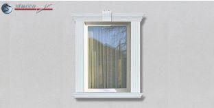 23. Fassaden Idee zur Fassadenverzierung: Fensterverzierung / Türverzierung