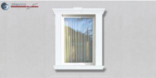25. Fassaden Idee zur Fassadendekoration: Fensterumrandung / Türumrandung