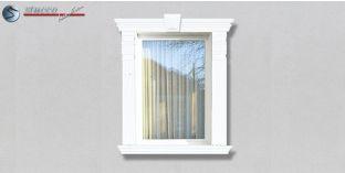 27. Fassaden Idee mit Zierornamenten: Fensterverzierung / Türverzierung