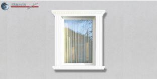 31. Fassaden Idee mit Stuckleisten als Fensterverzierung / Türverzierung