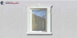 34. Fassaden Idee: Fassadenstuck Zierornamente zur Fensterverzierung