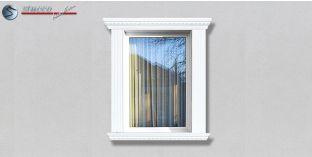 37. Fassaden Idee: Stuckleisten als Fensterverzierung / Türverzierung
