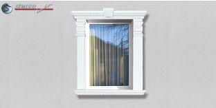 40. Fassaden Idee: Fassadenstuck Zierornamente zur Fensterverzierung