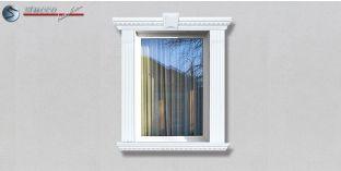 41. Fassaden Idee: Fassadenprofile zur Fensterumrandung / Türumrandung