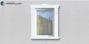 53. Fassaden Idee: Fassadenstuck Zierornamente zur Fensterverzierung