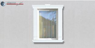 55. Fassaden Idee: Außenstuck zur Fensterumrandung / Türumrandung