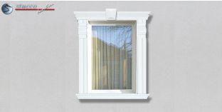 60. Fassaden Idee: Zierornamente in der Fensterverzierung / Türverzierung