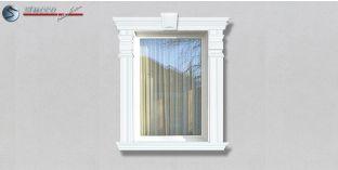 61. Fassaden Idee: Fassadenstuck Zierornamente zur Fensterverzierung