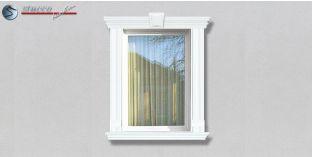63. Fassaden Idee: Außenstuck zur Fensterumrandung / Türumrandung
