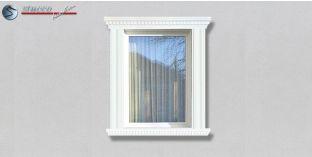 64. Fassaden Idee mit Stuckleisten als Fensterverzierung / Türverzierung