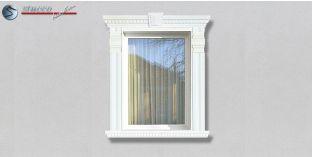 66. Fassaden Idee: Zierornamente in der Fensterverzierung / Türverzierung