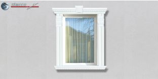 72. Fassaden Idee: Zierornamente in der Fensterverzierung / Türverzierung