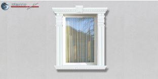 73. Fassaden Idee: Fassadenstuck Zierornamente zur Fensterverzierung