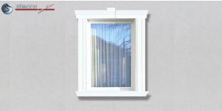 82. Fassaden Idee zur Fassadenverzierung: Fensterverzierung / Türverzierung