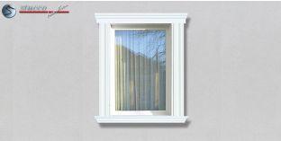 83. Fassaden Idee: Stuckleisten als Fensterverzierung / Türverzierung