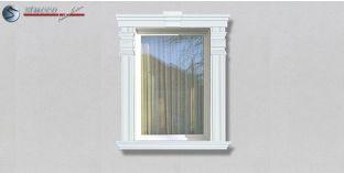 86. Fassaden Idee: Fassadenstuck Zierornamente zur Fensterverzierung