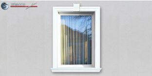16. Fassaden Idee für Aussenstuck zur Fensterumrandung / Türumrandung