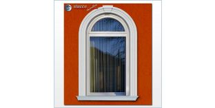102. Fassaden Idee: flexible Stuckleisten zur Fensterverzierung / Türverzierung