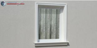 15. Fassaden Idee für Fensterumrandung / Türumrandung mit Aussenstuck