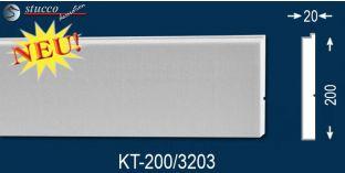 Laibungsprofil beschichtet Frankfurt KT-200 mm tief