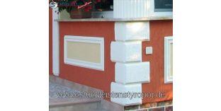118. Fassaden Idee: Bossensteine und Zierleisten zur Fassadenverzierung