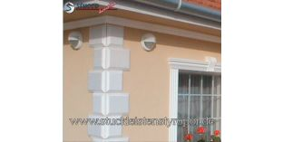 117. Fassaden Idee: Bossensteine und Dachgesims zur Fassadengestaltung
