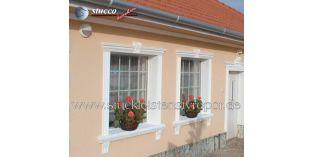 122. Fassaden Idee: Fassadenprofil als Dachgesims