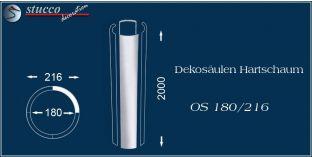 Dekosäulen Hartschaum OS 180/216