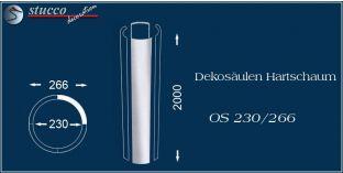 Dekosäulen Hartschaum OS 230/266