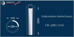 Dekosäulen Hartschaum OS 280/316