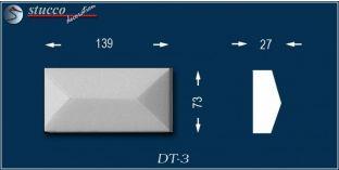Avitus DT-3 Linie Dekor zum Fenster