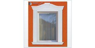 90. Fassaden Idee: flexible Stuckleiste zur Fensterumrandung / Türumrandung