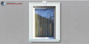 7. Fassaden Idee mit Fassadendekor für Fensterumrandung / Türumrandung