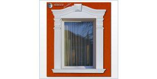 93. Fassaden Idee: Fassadenstuck Zierornamente zur Fensterumrandung
