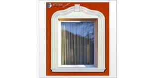 2. Fassaden Idee für Fensterumrandung / Türumrandung