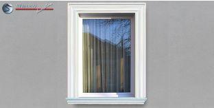 8. Fassaden Idee für die Fensterumrandung / Türumrandung mit Außenstuck