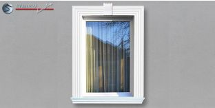 5. Fassaden Idee für Fensterumrandung / Türumrandung zur Fassadengestaltung