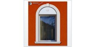 110. Fassaden Idee: flexible Stuckleisten für Fensterverzierung / Türverzierung zur Fassadendekoration