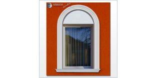 101. Fassaden Idee: flexible Stuckleisten für Fensterverzierung / Türverzierung