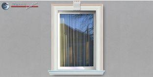 11. Fassaden Idee für Fensterumrandung / Türumrandung mit Fassadenprofilen