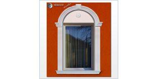 98. Fassaden Idee: flexible Stuckleisten zur Außenstuck Fensterverzierung / Türverzierung