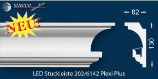 LED Stuckleiste Essen 202 PLEXI PLUS