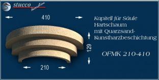Kapitell für Säule mit Beschichtung OFMK 210/410