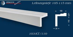 L-Profil für Laibung und Faschen Bangkok 103-KT 105-115 mm